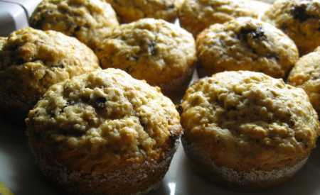 Burákové muffiny