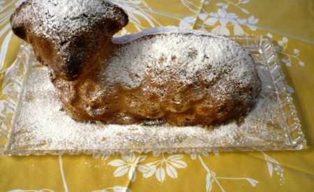 Medový velikonoční beránek
