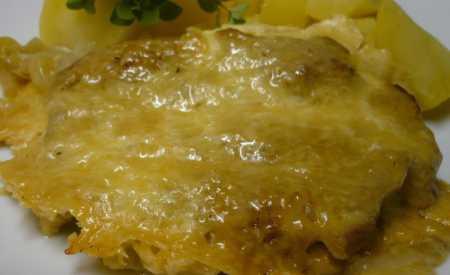 Krkovička pod sýrovou čepicí