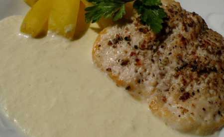 Kuřecí řízky v sýrové omáčce