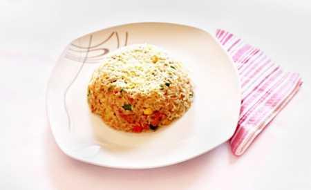Jednoduché rizoto se zeleninou