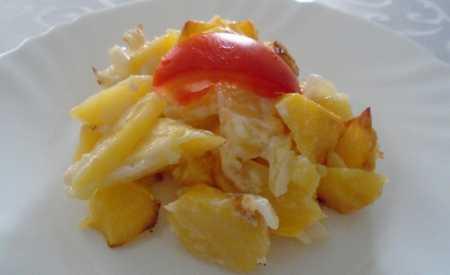 Francouzské smetanové brambory