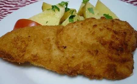 Smažené rybí filé