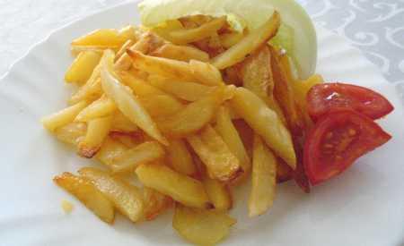 Smažené bramborové hranolky