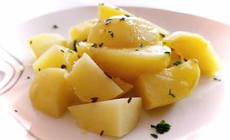 Vařené brambory s kmínem