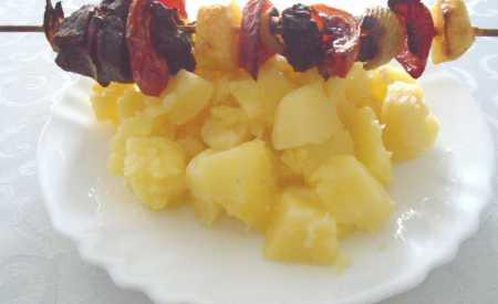 Jemné brambory