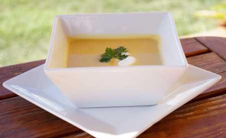 Čočková polévka s mrkví a celerem