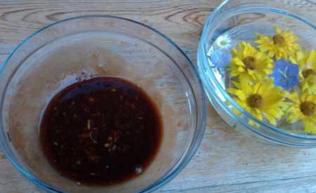 Grilovaná žebírka s medovou marinádou