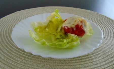 Zapečená vejce s rajčaty