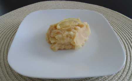 Bramborovo-jablečná kaše