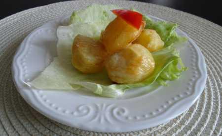 Křupavé pečené brambory