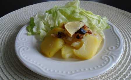 Brambory opečené s citronem