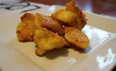 Smažený květák v sýrovém těstíčku