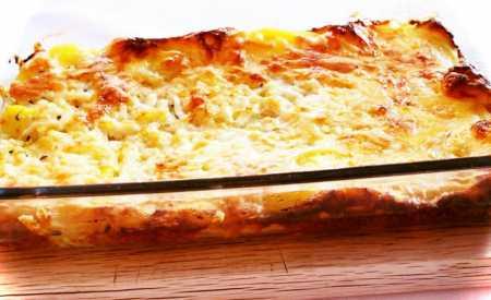 Brambory zapečené se sýrem