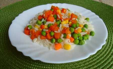 Zeleninová rýže II