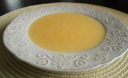 Cukrářská šlehačka s citronem