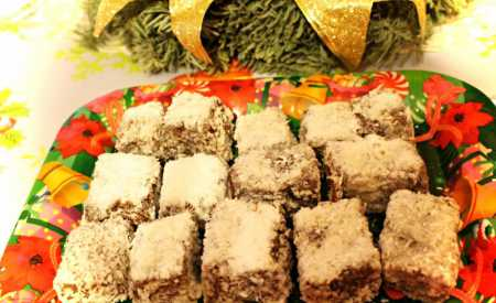 Kokosové kostičky