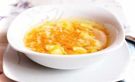 Blesková zeleninová polévka Ládi Hrušky
