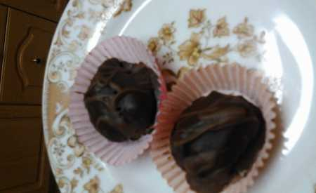 Čokoládové pralinky