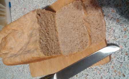 Podmáslový chléb s celozrnnou moukou