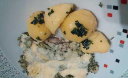 Kuřecí plátky se šunkou a brokolicí