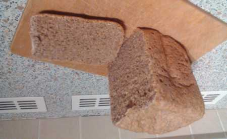 Celozrnný chléb se šunkou