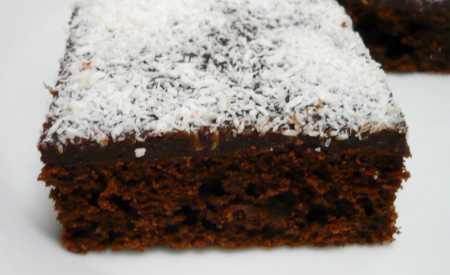 Kakaové řezy s rumovou polevou