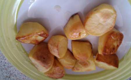 Pečené brambory na sádle