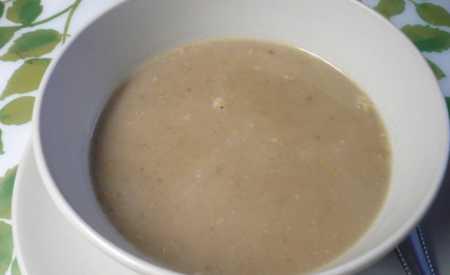 Čočková polévka kyselá s bramborami