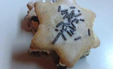 Kávové vánoční cukroví