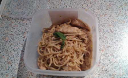 Smažené kuře s chilli a bazalkou II