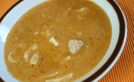 Polévka dršťková