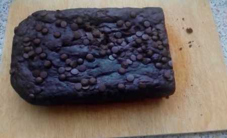 Banánový chléb s čokoládou