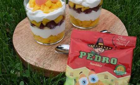 Kokosový dezert s Pedro bonbonky