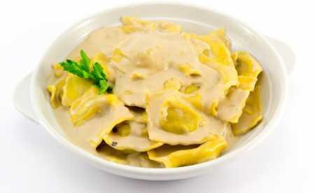 Agnolotti a sýr Taleggio s majoránkou