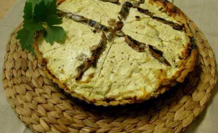 Alsaský cibulový koláč