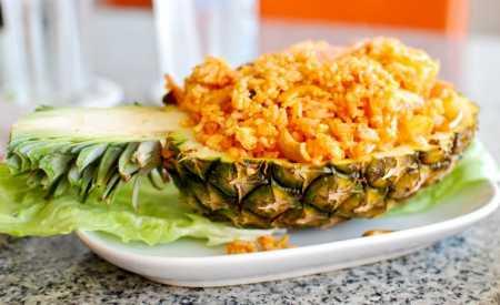 Ananasová rýže