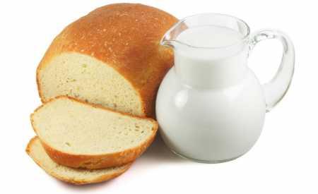Anglický mléčný chléb