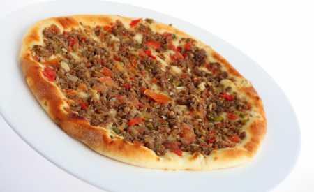 Arabská pizza