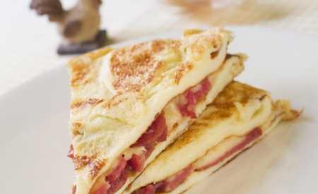 Bělostná omeleta