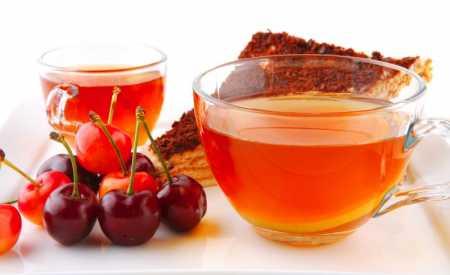 Čaj z třešňových stopek