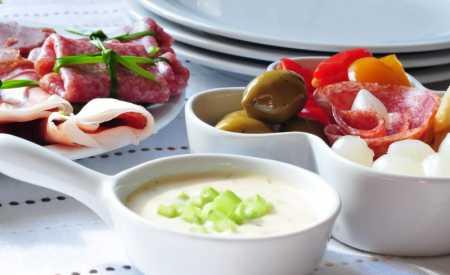 Česneková salsa základní