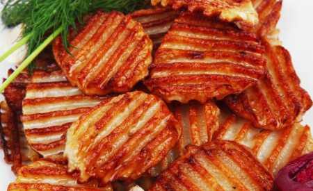 Chipsy ze sladkých brambor