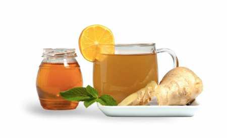 Čínský zázvorový čaj