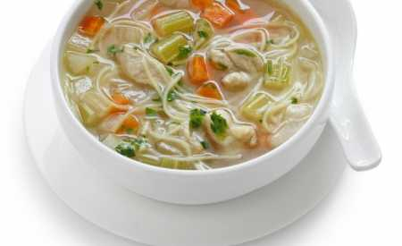 Čirá zeleninová polévka