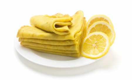 Citronové palačinky