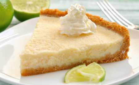 Citronový koláč s mandlemi