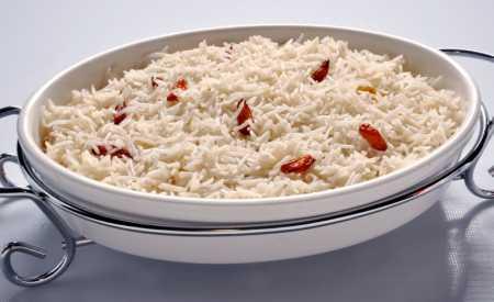 Dušená rýže po indicku