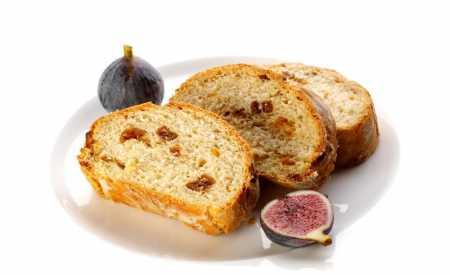 Fíkový chléb s mandlemi