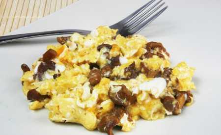 Houby s vejci